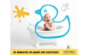 Baby hygiene kit, bath moments are fun!