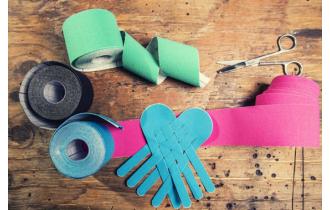 Kinesio tape, fashion or therapy?