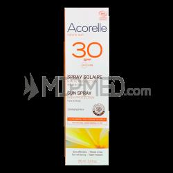 Acorelle Spray Sunscreen Cream - SPF30 - 100ml