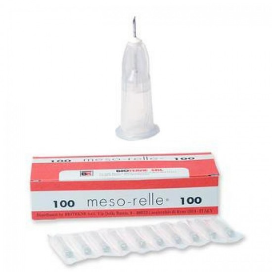 Luer Mesotherapy Needles - 27G - 4mm, 6mm and 12mm