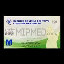 Vinyl Gloves - Powder-Free - 100 units