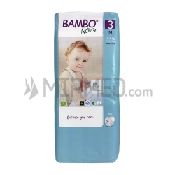 Diapers Bambo Nature - Size 3 -Midi - 52 units