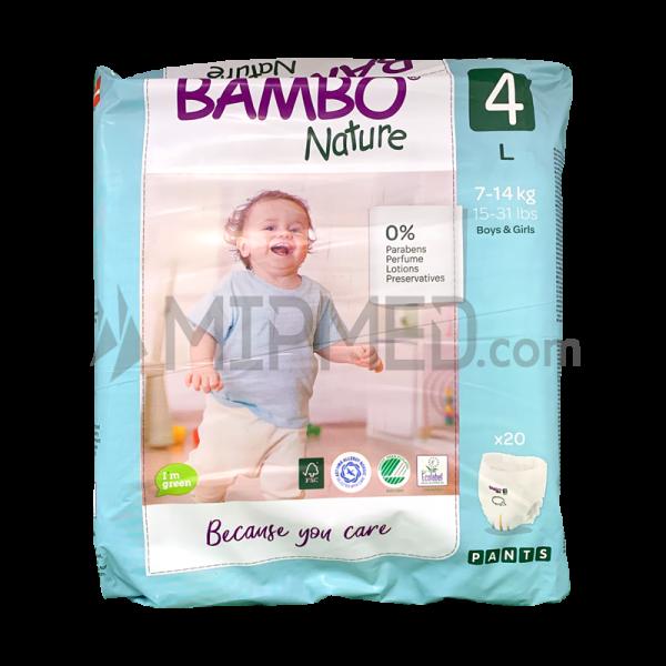 Bambo Nature Panties - Size 4 - Maxi - 20 units