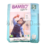 Bambo Nature Panties - Size 5 - Maxi - 19 units