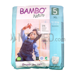 Bambo Nature Panties - Size 5 - Maxi - 19 units