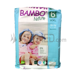 Bambo Nature Panties - Size 6 - Maxi - 18 units
