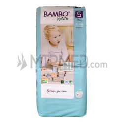 Diapers Bambo Nature - Size 5 -Junior - 44 units