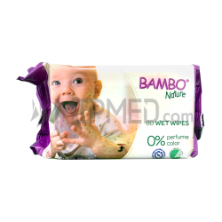 Bambo Nature Wet Wipes – 80 units