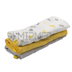 Cotton Diapers Mousseline - Flamingo Pack