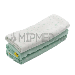 Cotton Diapers Mousseline - Green Water Pack