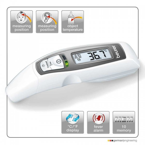 Ear and Forehead Digital Thermometer - FT65 - Beurer