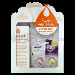 Bio-Oil 200ml + pacifiers Avent