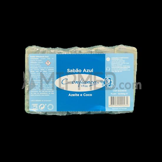 Confiança Blue Soap - 5x100g