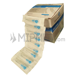 Sterilized Needles -23G x 1 1/2'' - 0,6x25mm - 100 unidades