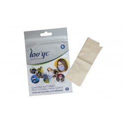 Anti-Dull Suede Cloth for Glasses (1 unit - 200 uses)