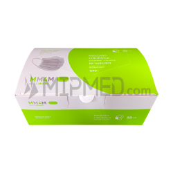 Triple Layer Surgical Masks type I - 95% - 50 units
