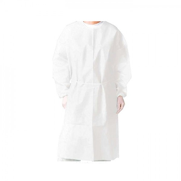 Disposable Gowns White  - 10 units