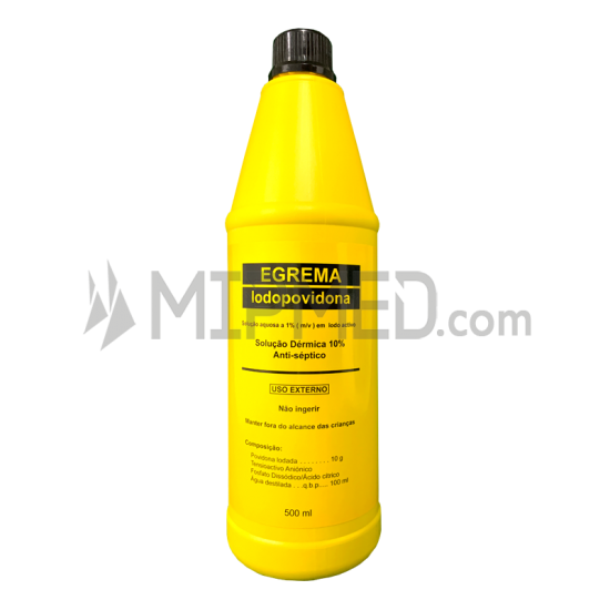 Dermal Iodopovidone 10% - 500ml