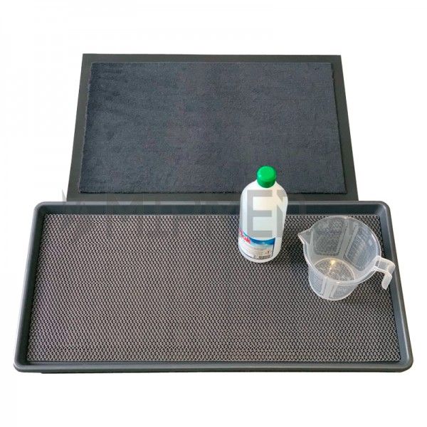 Disinfectant mat for shoes (Complete Kit)
