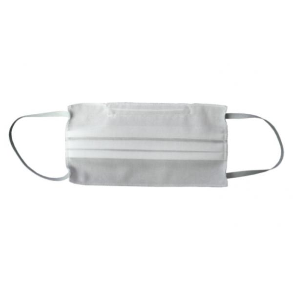 White Triple Layer Surgical Masks - Washable - 10 units