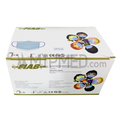 Type I Pediatric Triple Layer Surgical Masks -> 95% - 50 units