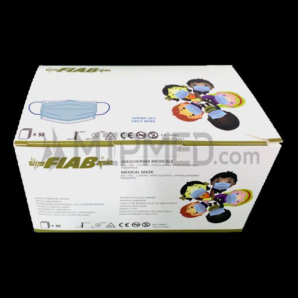 Type I Pediatric Triple Layer Surgical Masks -> 95% - 50 units