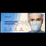 Disposable Triple Layer Social Masks Level 2 -> 90% - 50 units