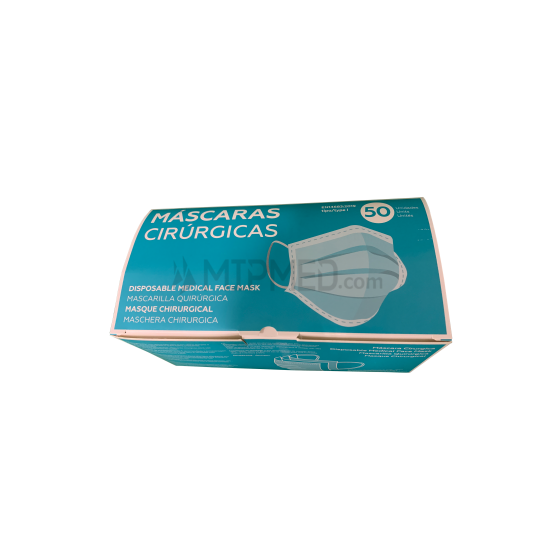 Triple Layer Surgical Masks - 95% - 50 units