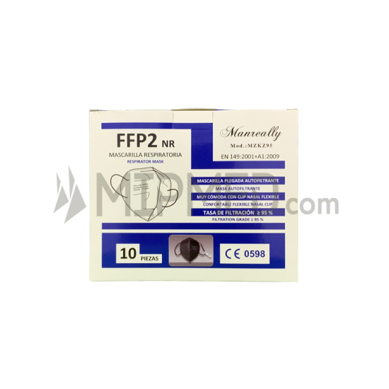 Masks FFP2 Type KN95 Black - 10 units