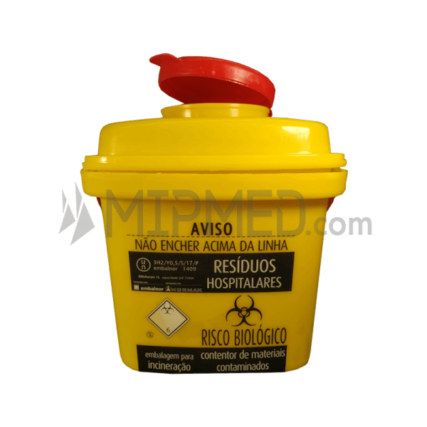 Container for Needles  and Waste - 1L