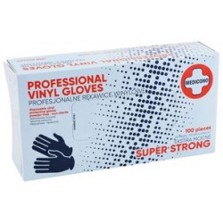 Vinyl Gloves - Powder-Free - 100 units