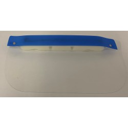 Blue visor with Sponge - 1 Unit
