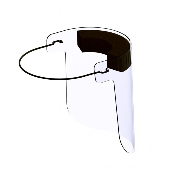 Face Protection Visors with Sponge - 1 Unit