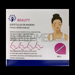 Facial Wood Spatulas - 100 units