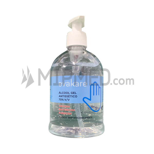 Hand Disinfectant - Alcohol Antiseptic Gel 70% with dispenser - 500ml