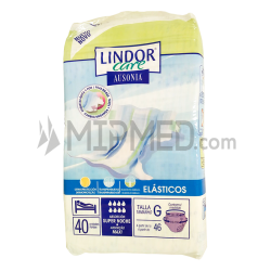 Lindor Care - Diapers - Maxi - Size L - 40 units