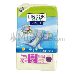 Lindor Care - Diapers - Super - Size M - 40 units