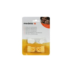 Valve and membrane pack - Medela