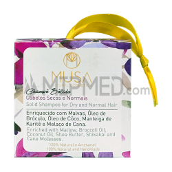 Musa Dry and Normal Hair Solid Shampoo - 50g
