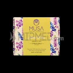Citrus Viola Musa Soap - 125g