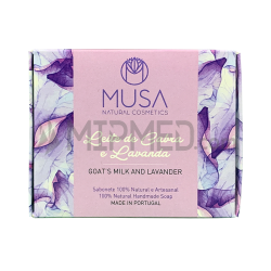 Goat Milk Soap and Lavender Musa - 125g
