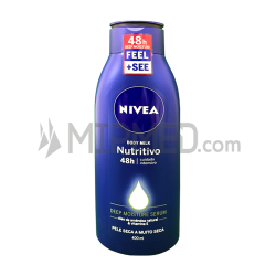 Nivea Body Milk Nourishing - 400ml