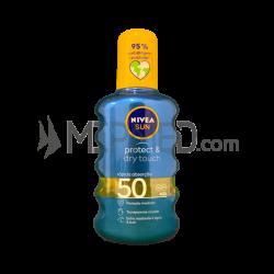 Nivea Sun - Protect & Dry Touch - Spray - FP50 - 200ml
