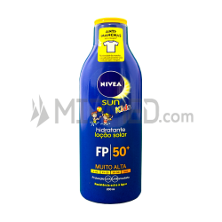 Nivea Sun Kids - Solar Moisturizing Lotion - FP 50+ - 200ml