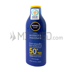 Nivea Sun - Protect & Moisture - FP50+ - 200ml