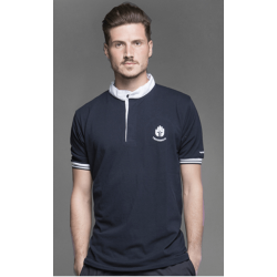 Blue Short Sleeve Polo Shirt (Ref. 142)