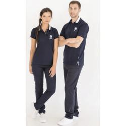Blue Short Sleeve Polo Shirt (Ref. 285)