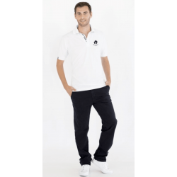 White Short Sleeve Polo Shirt (Ref. 279)