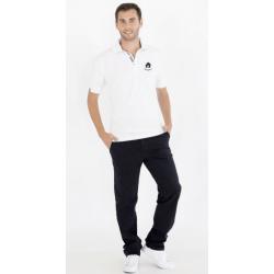 White Short Sleeve Polo Shirt (Ref. 279)