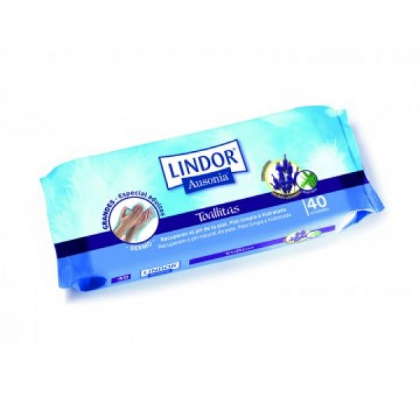 Lindor - Dermo Wipes - 40 units